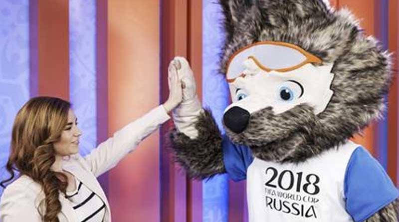 Russia has chosen a goggled wolf as mascot for the Football 2018