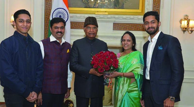 CM Ramesh family