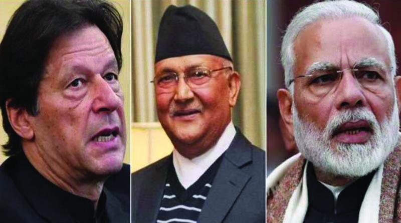 Imran khan, KP Sharma Oli and Narendra Modi