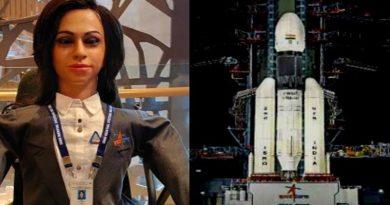 Lady Robot-ISRO