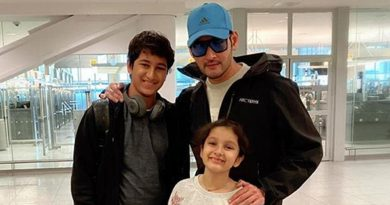Superstar with Kids in New York