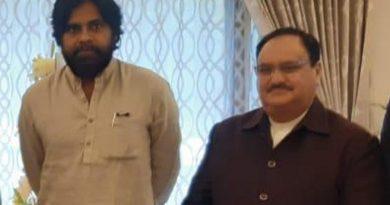 Pawan Kalyan meeting with J P Nadda
