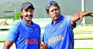 Ranveer Singh & Kapil Dev