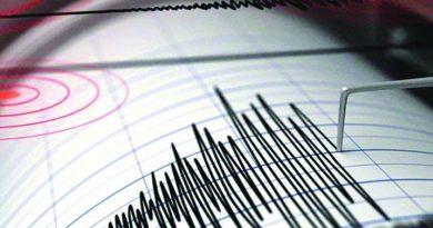 Richter scale graph