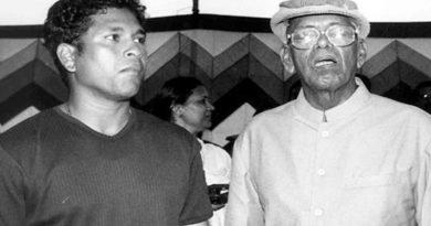 Sachin Tendulkar & ramakant achrekar