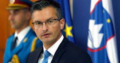 Slovenian PM Marjan Sarec