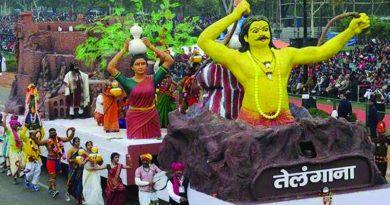 Telangana era in Delhi Parade
