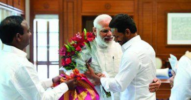 CM Jagan meets with PM Narendra Modi