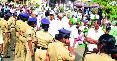 Tension again in Mandadam