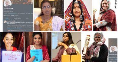 7 Women who took over PM Modi's SM via The Print