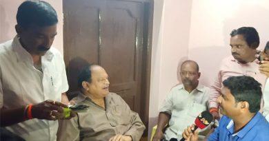 MLA karanam balaram with others