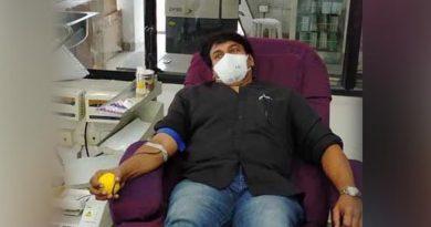 Chiranjeevi blood donation