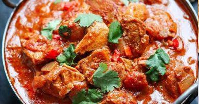 Chicken spice curry