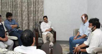 Fillm stars with AP CM Jagan