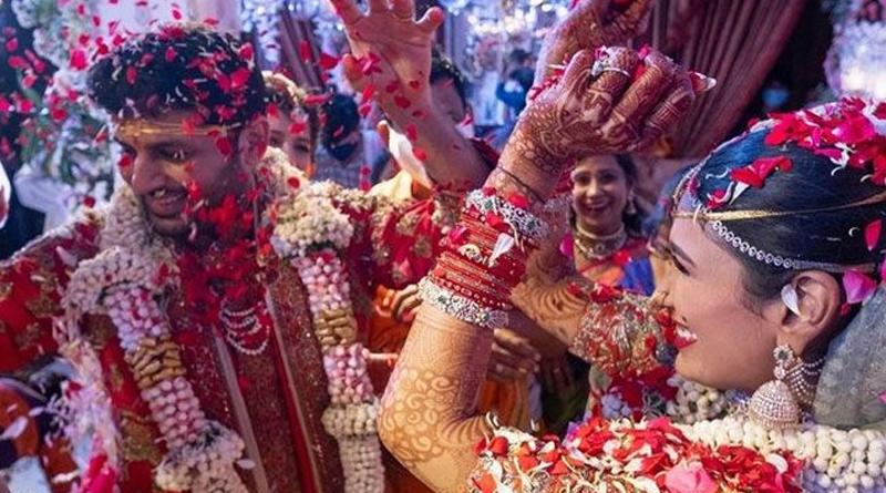 Nithiin Shalini Wedding Clicks