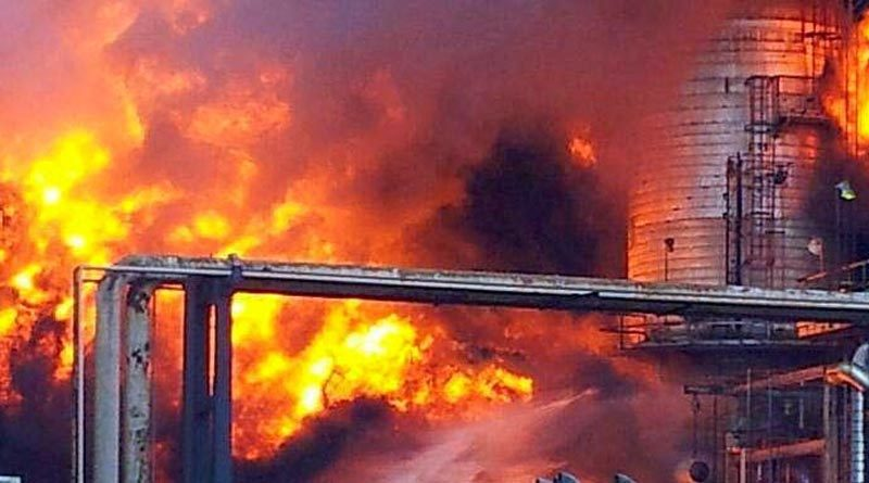 fire in the chemical industry