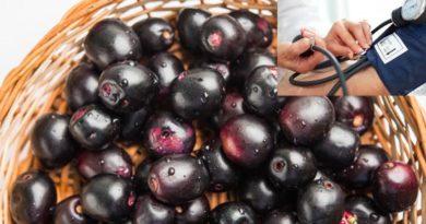 jamun fruit- to control blood pressure