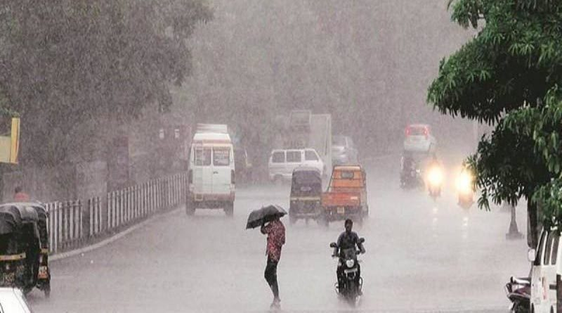 Chance of heavy rain in the coming days