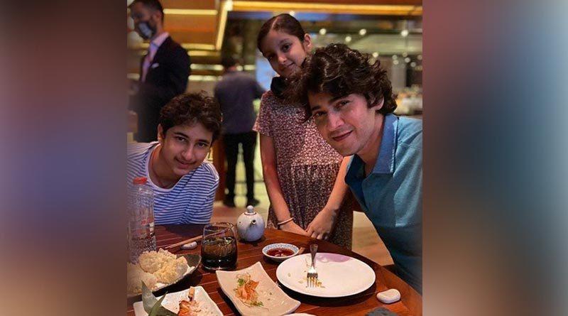 Mahesh Babu with His Kids