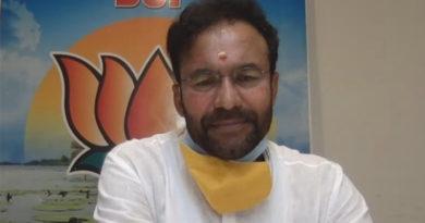 Union Minister Kishan Reddy