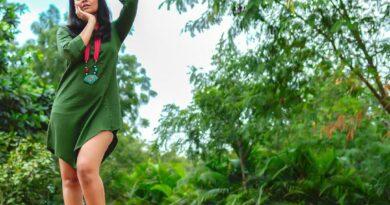 Anasuya in Green mesmerising the fans