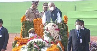 Governor Bishwabhushan at the Independence Day celebrations