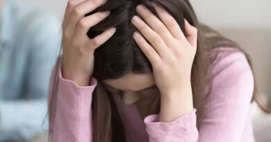 Health problems due to stress