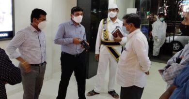 JC random inspection at Guntur movie theaters