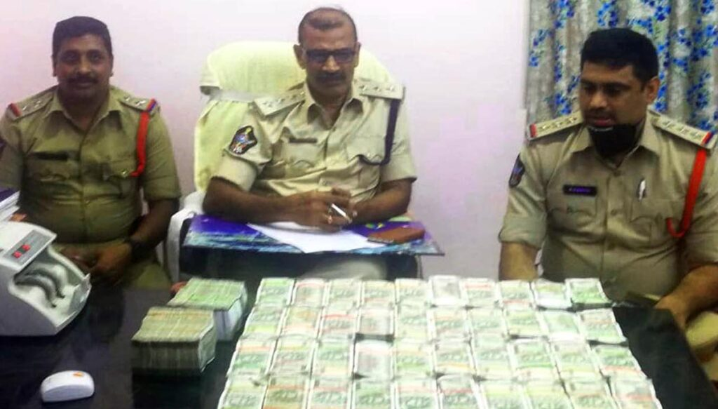 Rs. Crore seized in bus
