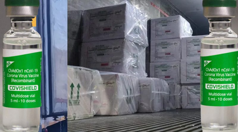 Arrival of another lakh covishield vaccines