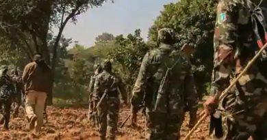 Counter fire in Chhattisgarh