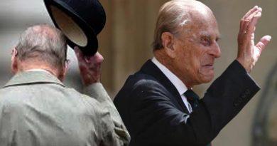 Elizabeth's husband, Prince Philip, died