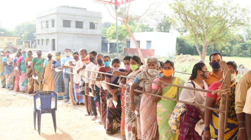 Polling for Tirupati by-election