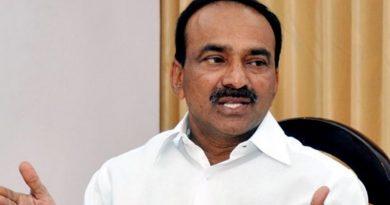 TS Minister Etela Rajender