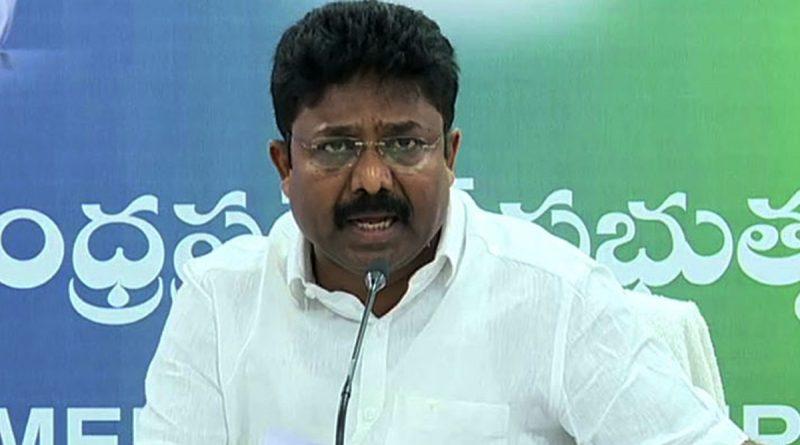 AP Minister Aadimoolapu Suresh