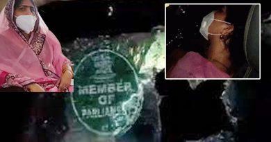Attack on MP Ranjeeta koli's car
