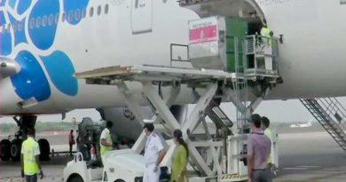 Sputnik V vaccine arrives in Hyderabad from Russia