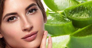 Aloe vera for youthful skin