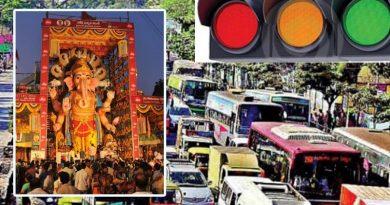 Khairatabad -ganesh festival -Traffic restrictions
